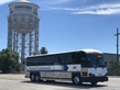 Motor Coach, Bus, Water Tower